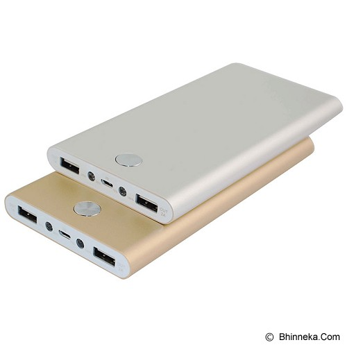 IROC Powerbank 15000 mAh [Slim SM-15] - Silver - Portable Charger / Power Bank